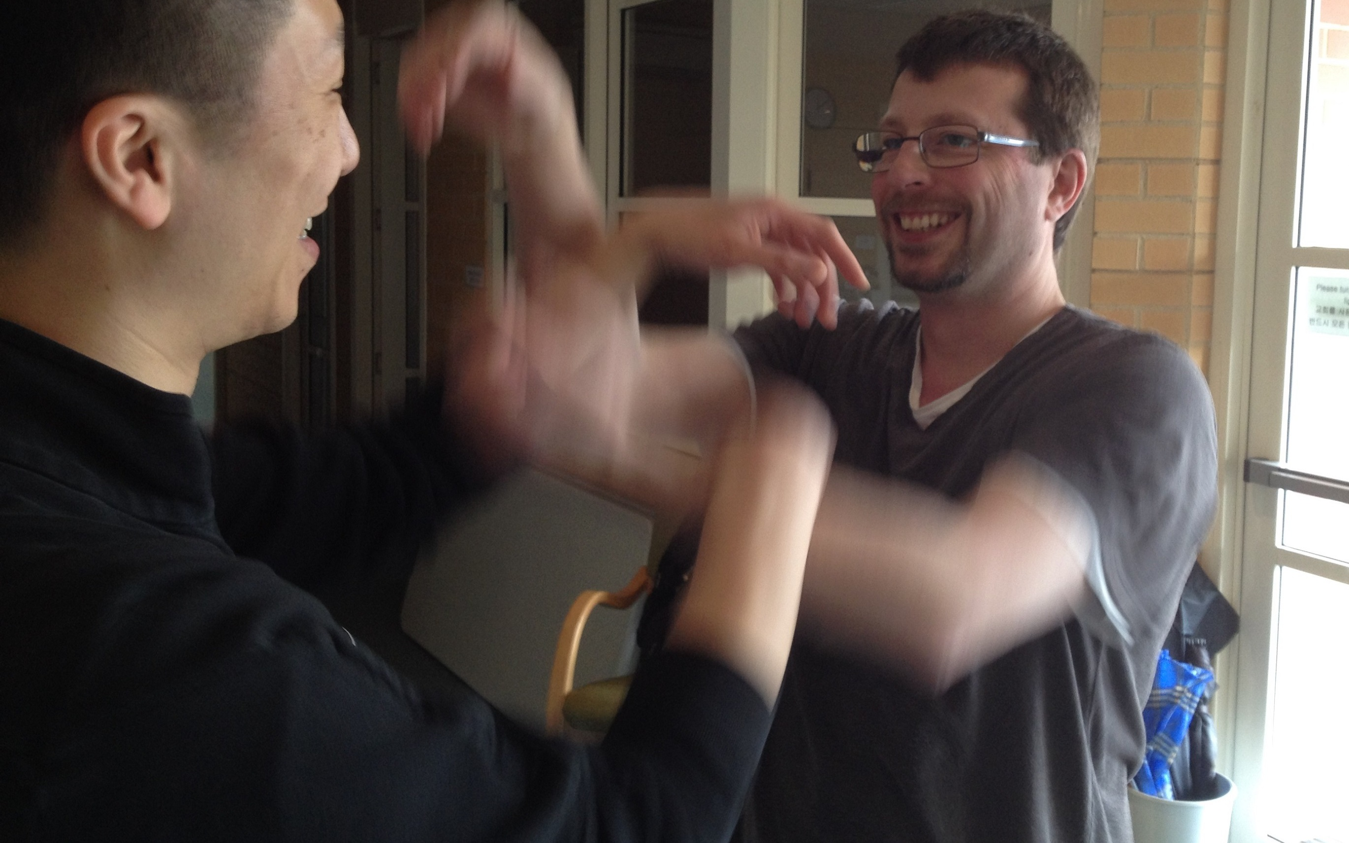 """""""I find it easy to commit to serious training as I find Wing Chun fairly addictive."""""""