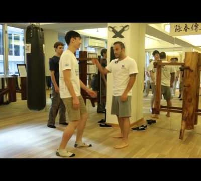 Stability and Power while kicking in Wing Chun
