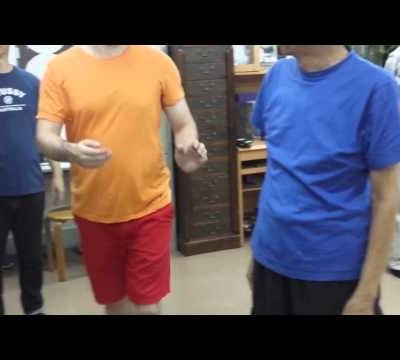 Wing Chun's Biu Jee Elbow - Very Powerful! Chu Shong Tin