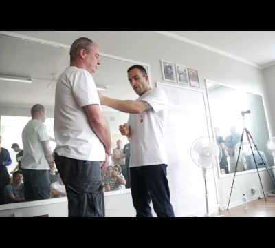 Mechanics of the Wing Chun punch - Nima King