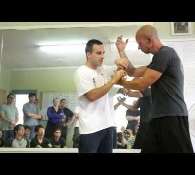 Chisau Discussion - Nima King Mindful Wing Chun