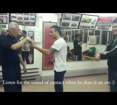 Focusing force to a small area - Chu Shong Tin Wing Chun