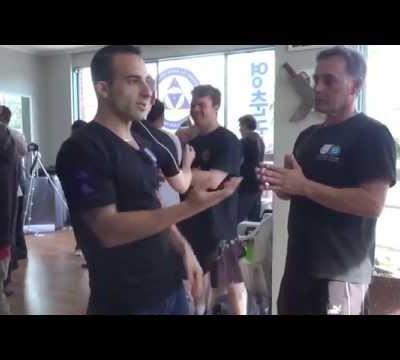 Wing Chun Striking While Guarded  - Nima King