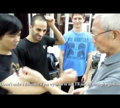 Wing Chun Striking - From Fooksau position - Chu Shong Tin