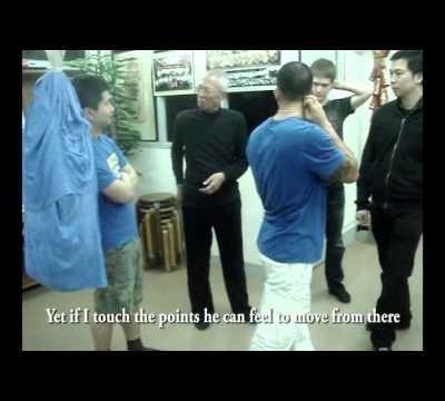 Wing Chun's Biu Jee Power  - spinal vertebrae rotation