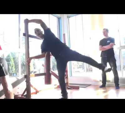 Chu Shong Tin's prescribed kicking exercises - and some thoughts on dynamic use of Wing Chun