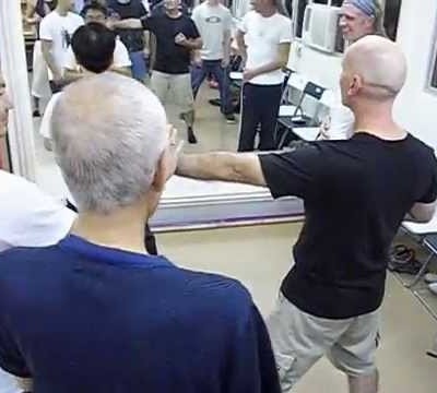 Opening the joints - Mark Spence and Grandmaster Chu Shong Tin
