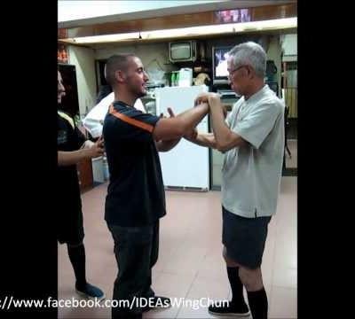 Transmitting Power Through A Row of People (Chu Shong Tin Training Episodes #001)