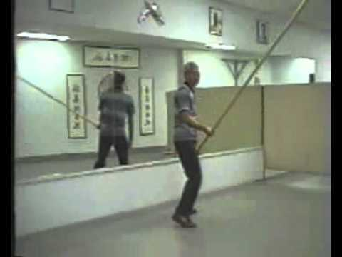 Grandmaster Chu Shong Tin - Wing Chun Weapon Form Six And A Half Point Pole