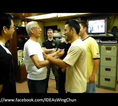 Starting A Wing-arc (Bong Sau) Turn (Chu Shong Tin Training Episodes #002)