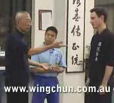 Sigung Chu Shong Tin's Realistic Fighting #1